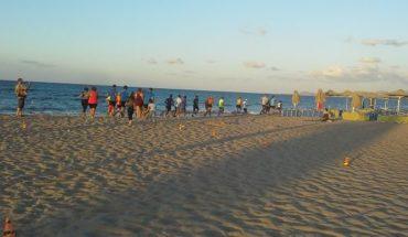 6ο BEACH RUNNING