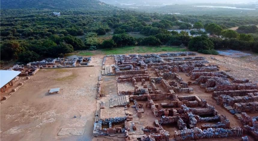 Δείτε από ψηλά το Μινωικό μεγαλείο στο Ανάκτορο Μαλίων!   Drone ΒΙΝΤΕΟ