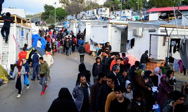 κέντρα φιλοξενίας προσφύγων