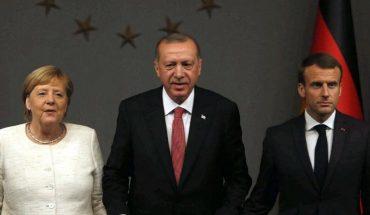 ερντογάν μακρόν μέρκελ