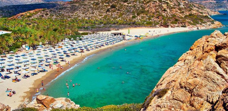 οργανωμένη παραλία λασίθι