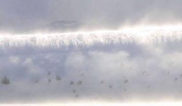 Απίστευτο φαινόμενο: Τσουνάμι από χιόνι πλημμυρίζει κοιλάδα! | ΒΙΝΤΕΟ