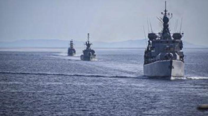 πολεμικο ναυτικο ασκηση