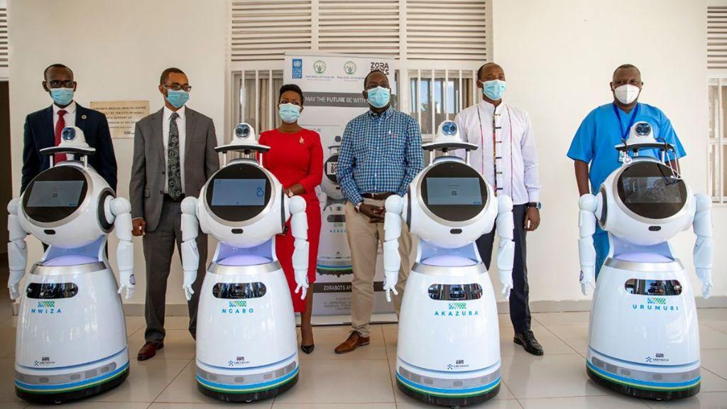 Αυτά τα «φονικά» ρομπότ σκοτώνουν τον... κορονοϊό! | ΒΙΝΤΕΟ