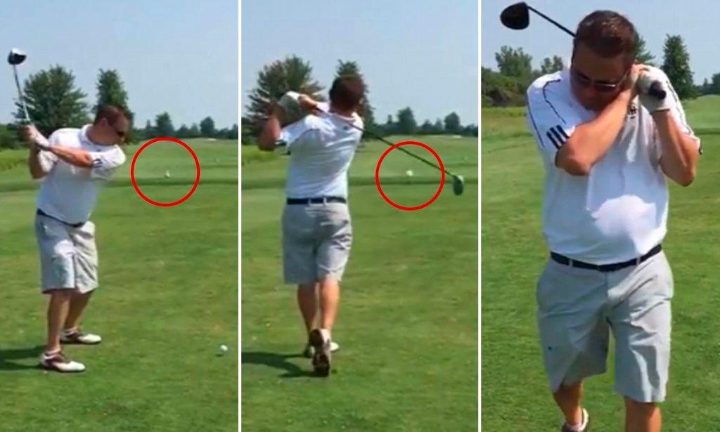 Τραγικός τύπος σκοτώνει γλάρο με... μπαλάκι του γκολφ! | ΒΙΝΤΕΟ
