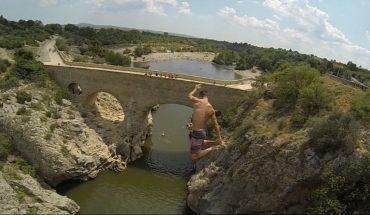 Αδιανόητο: Πήδηξε από 25 μέτρα ύψος και βγήκε ζωντανός! | ΒΙΝΤΕΟ