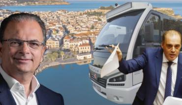 Βελοπουλος Μαρινάκης λεωφορείο