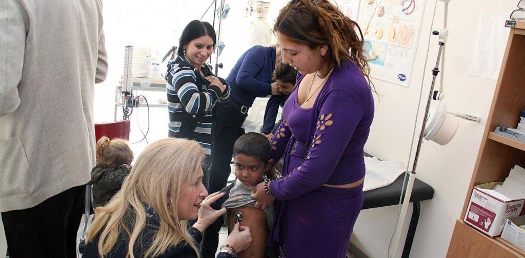 Εμβολιασμός Ρομά