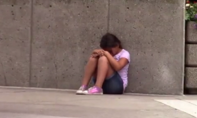 She's Hungry And Alone. How These Strangers Deal With This Child May Shock You.