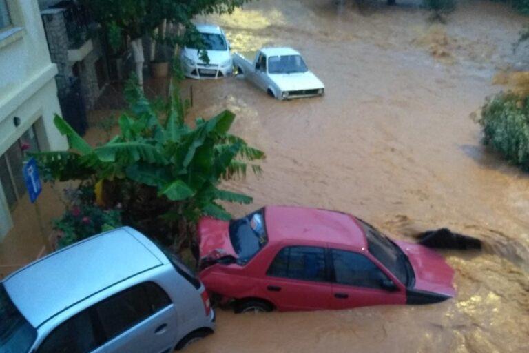 πλημμύρες Κρήτη
