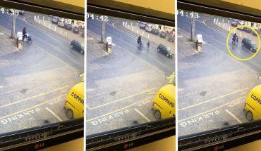 Κίνδυνος-θάνατος: Απαράδεκτος οδηγός παραλίγο να «πατήσει»... παιδάκι! | ΒΙΝΤΕΟ