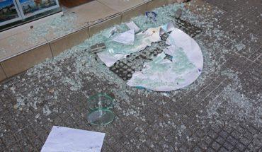 σπάσμένη τζαμαρία