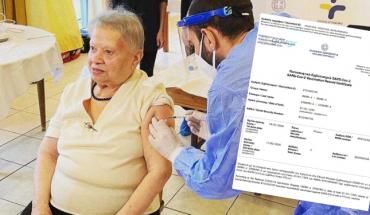 πιστοποιητικό εμβολιασμού