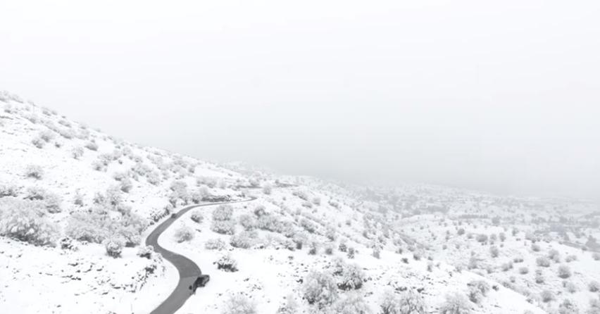 Χιονισμένη Κρήτη