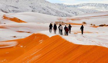χιόνια Σαχάρα
