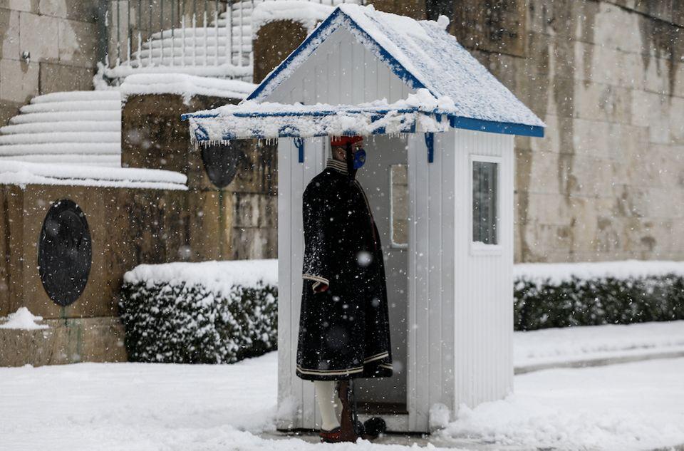 μηδεια χιονια φρουρα
