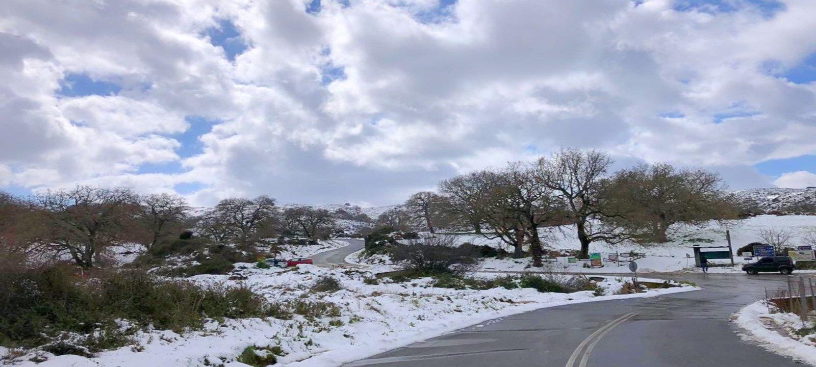 χιόνια Ρέθυμνο