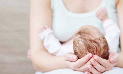 γυναίκα γέννησε μωρό