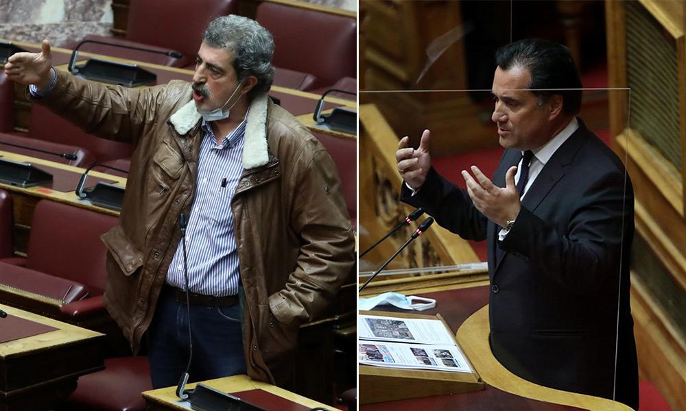 βουλη ελληνικο κοντρα αδωνις πολακης