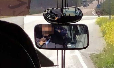 καταγγελια πολιτη για οδηγο κτελ που δεν φοραει μασκα