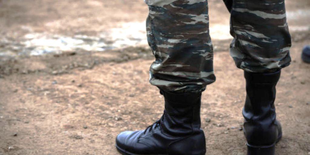 Βιασμός στρατιώτη