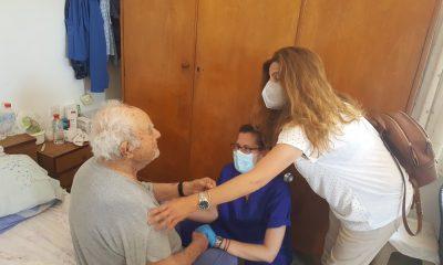 κατ' οίκον εμβολιασμός