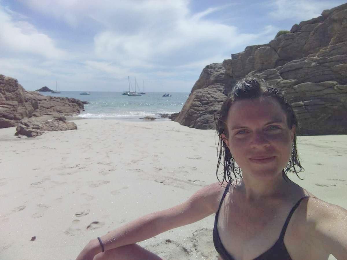Γαλλίδα τουρίστρια