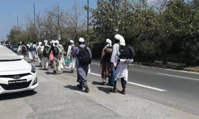 καλαματα συλληψεις τουριστων που τους περασαν για ταλιμπαν