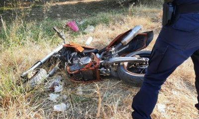 τροχαίο Κρήτη μοτοσικλετιστής