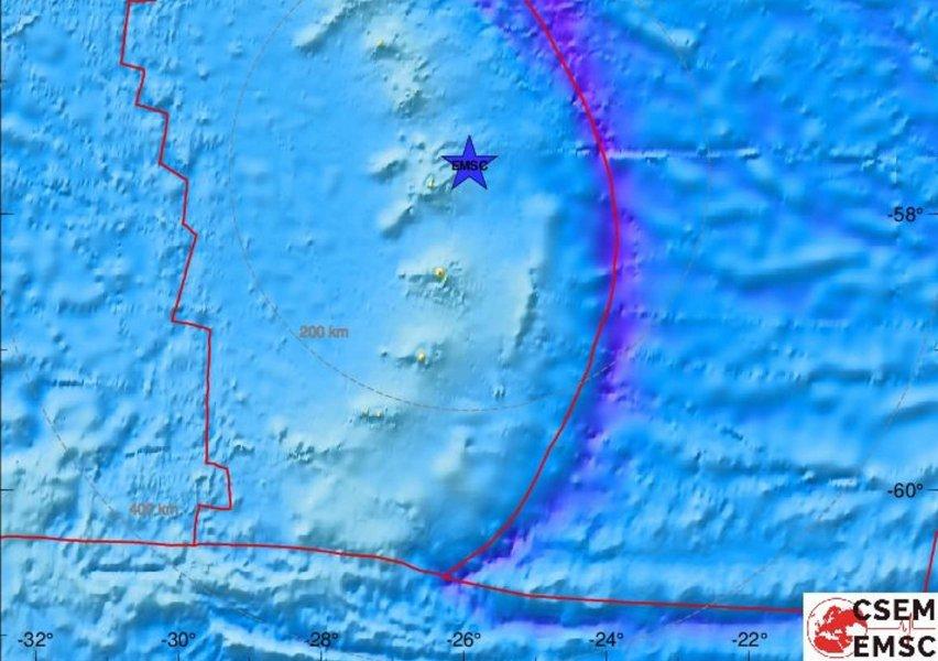 Σεισμός Ατλαντικός
