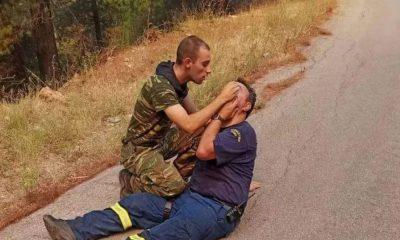 στρατιώτης πυροσβέστης