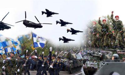 στρατιωτική παρέλαση Θεσσαλονίκη