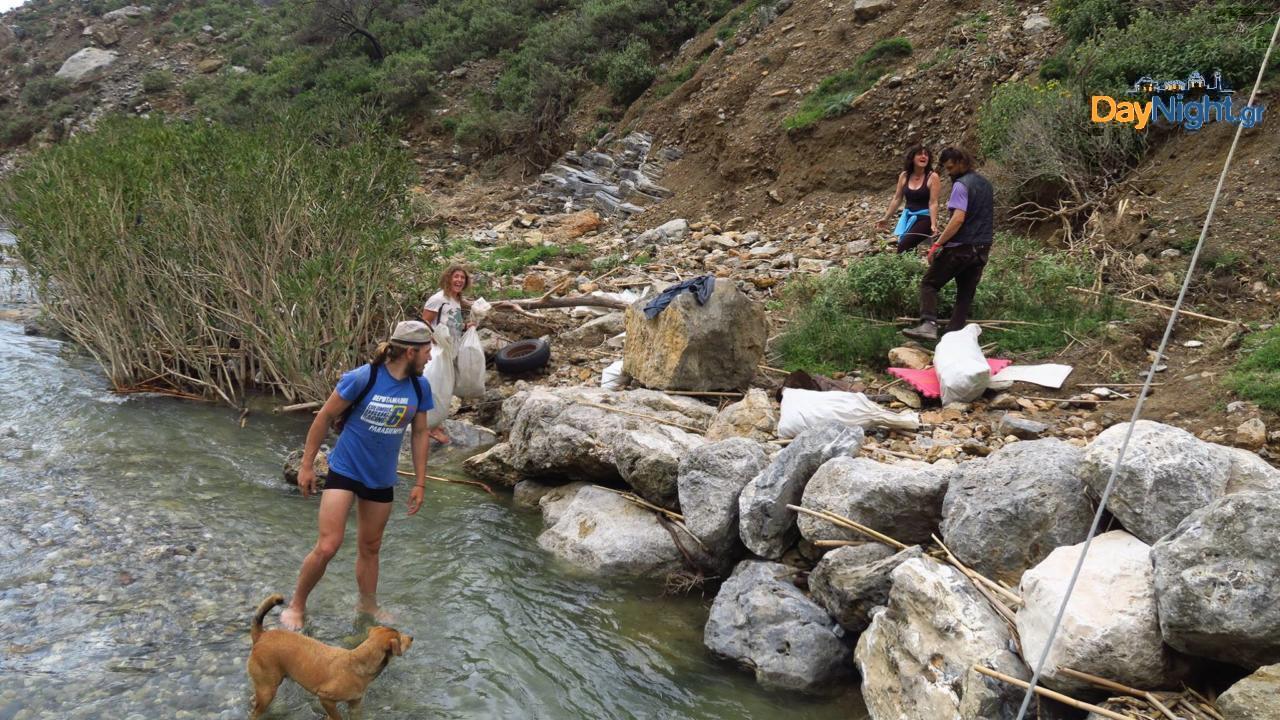 Εθελοντές - Κουρταλιώτης ποταμός