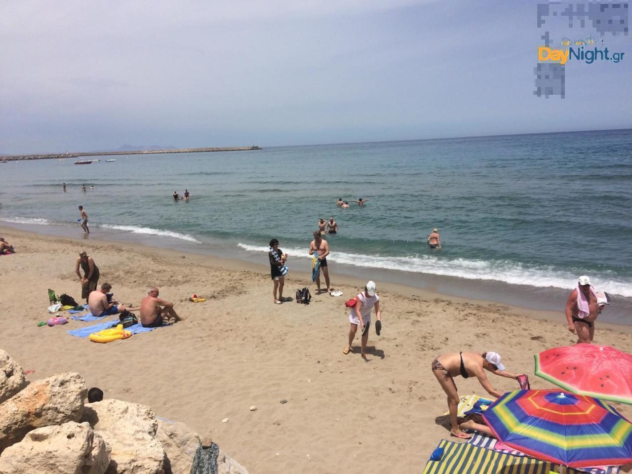 Έπιασαν τις παραλίες στο Ρέθυμνο